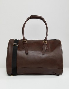 Бордовая сумка из искусственной кожи ASOS DESIGN - Красный
