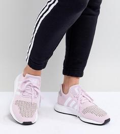 Розовые кроссовки для бега adidas Originals - Черный