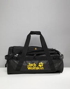 Черная сумка Jack Wolfskin Expedition 65 - Черный