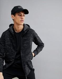 Черная куртка с капюшоном Jack Wolfskin Oceanside - Черный