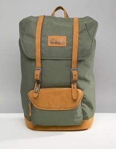 Рюкзак цвета хаки Jack Wolfskin Earlham - Зеленый