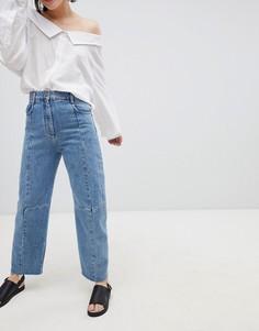 Синие прямые джинсы ASOS DESIGN Premium - Синий