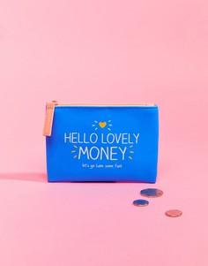 Кошелек с принтом Hello Lovely Money Happy Jackson - Мульти