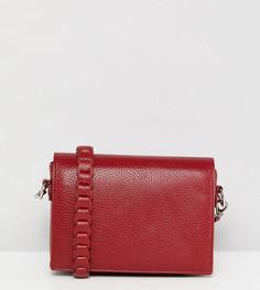 Бордовая сумка через плечо Street Level - Красный
