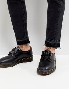 Черные ботинки Dr Martens Henton - Черный