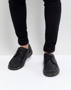 Туфли с 3 парами люверсов Dr.Martens Revive Hanneman - Черный