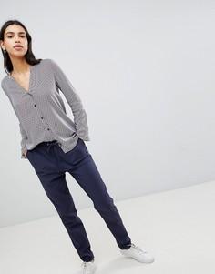 Свободные брюки галифе Esprit - Темно-синий