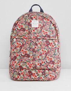 Рюкзак с цветочным принтом Jack Wills - Оранжевый