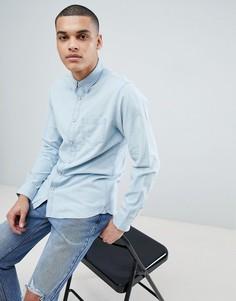 Джинсовая рубашка Selected Homme - Синий