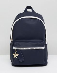 Миниатюрный рюкзак Tommy Hilfiger - Темно-синий