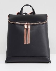 Рюкзак с кисточкой ASOS - Черный