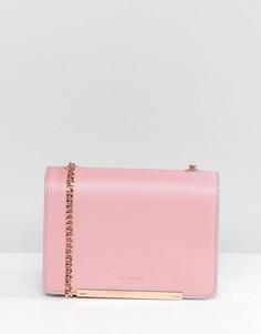 Кожаная сумка Ted Baker - Розовый