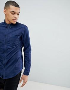 Джинсовая рубашка с длинными рукавами Another Influence - Фиолетовый