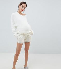 Кружевные шорты Mamalicious - Белый Mama.Licious