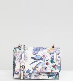 Сумка через плечо с цветочным принтом Accessorize - Мульти