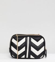 Стеганая сумка через плечо Accessorize Miranda - Черный