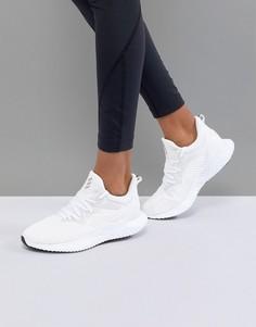Белые кроссовки adidas alphabounce - Белый