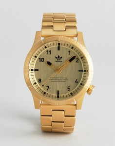 Золотистые часы-браслет Adidas Z03 Cypher - Золотой