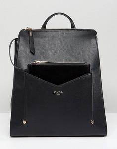 Черный рюкзак со съемным кошельком Dune - Черный