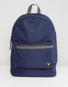 Темно-синий рюкзак Lyle & Scott - Темно-синий