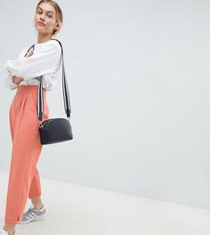 Зауженные брюки с завышенной талией ASOS DESIGN Petite - Оранжевый