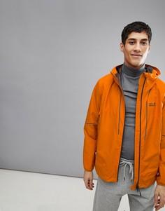 Оранжевая куртка Jack Wolfskin Sierra Trail - Оранжевый
