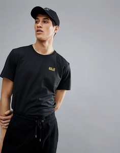 Черная футболка Jack Wolfskin - Черный