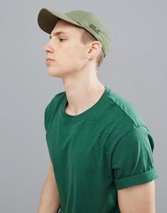 Бейсболка цвета хаки Jack Wolfskin El Dorado - Зеленый