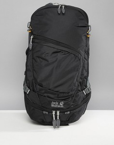 Черный рюкзак Jack Wolfskin Crosser 26 - Черный