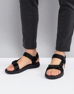 Черные сандалии Jack Wolfskin Seven Seas 2 - Черный