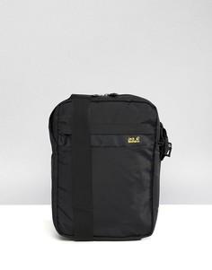Черная сумка для авиапутешествий Jack Wolfskin Purser XT - Черный