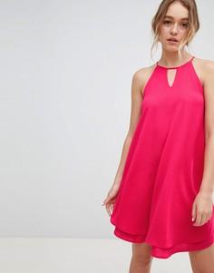 Летнее платье с вырезом капелькой Only - Розовый