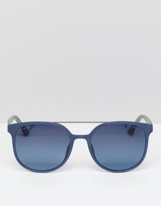 Квадратные солнцезащитные очки Police - Синий