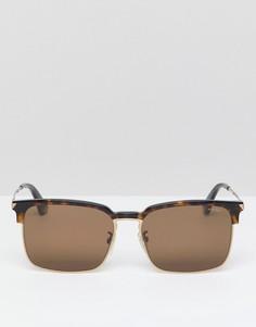 Квадратные солнцезащитные очки Police - Черный