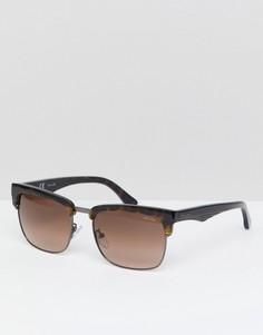 Солнцезащитные очки в стиле ретро Police - Коричневый
