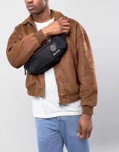 Черная сумка-кошелек на пояс с логотипом Hollister - Черный