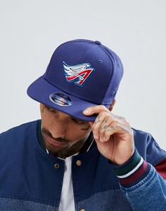Бейсболка с логотипом Anaheim Angels New Era 9Fifty Coast to Coast - Темно-синий