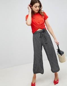 Укороченные брюки Brave Soul Dakota - Черный