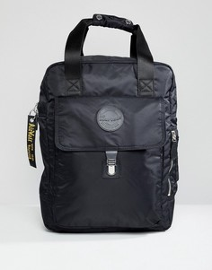 Большой черный нейлоновый рюкзак Dr.Martens - Черный