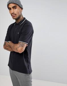Поло черного цвета Levis Skateboarding - Черный