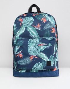 Рюкзак с принтом Jack & Jones - Синий