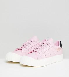 Розовые кроссовки adidas Originals - Черный