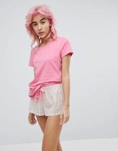 Пижамный комплект Calvin Klein Pj In A Bag - Розовый
