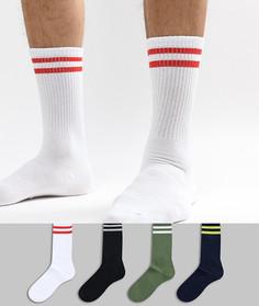 Набор из 4 пар носков Jack & Jones - Мульти