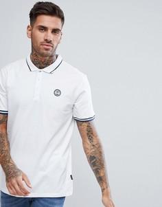 Хлопковая футболка-поло Dare2b - Белый