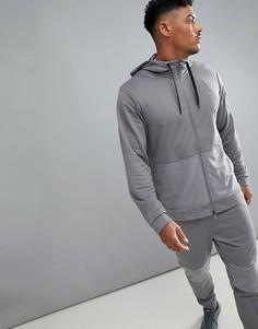 Худи серого цвета из флиса Nike Training Project X AA4656-036 - Серый