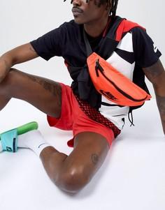 Красная сумка-кошелек на пояс Nike Heritage BA5750-816 - Красный