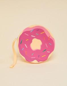 Розовый кошелек в виде пончика Sunnylife - Мульти