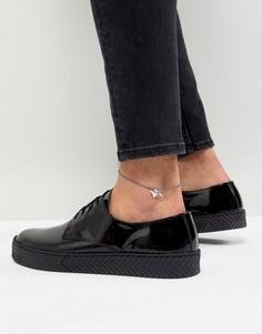 Браслет на ногу с подвеской-гепардом ASOS DESIGN - Серебряный