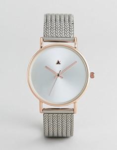 Премиум-часы с сетчатым ремешком ASOS DESIGN - Мульти